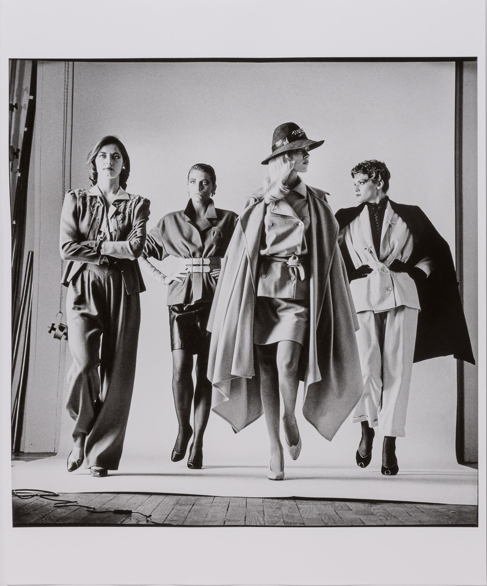 HELMUT NEWTON (1920-2004) , Sie Kommen, Dressed and Naked